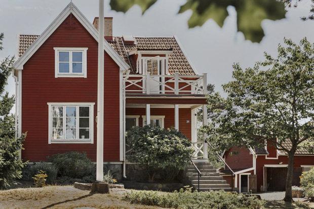 Фотография: Архитектура в стиле , Скандинавский, Декор интерьера, Дом, Швеция, Декор дома, Белый, Стокгольм, Серый, уютный минимализм – фото на INMYROOM