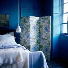 Фотография: Спальня в стиле Кантри, Квартира, Интерьер комнат, Советы, Перепланировка, Ширма – фото на InMyRoom.ru