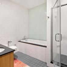 Фотография: Ванная в стиле Скандинавский, Современный, Квартира, Дома и квартиры – фото на InMyRoom.ru