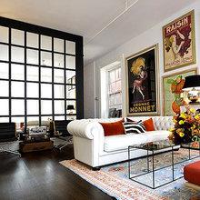 Фотография: Гостиная в стиле Эклектика, Классический, Декор интерьера, Великобритания, Мебель и свет, Диван – фото на InMyRoom.ru