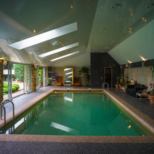 Фото из портфолио Дом с водопадом – фотографии дизайна интерьеров на INMYROOM