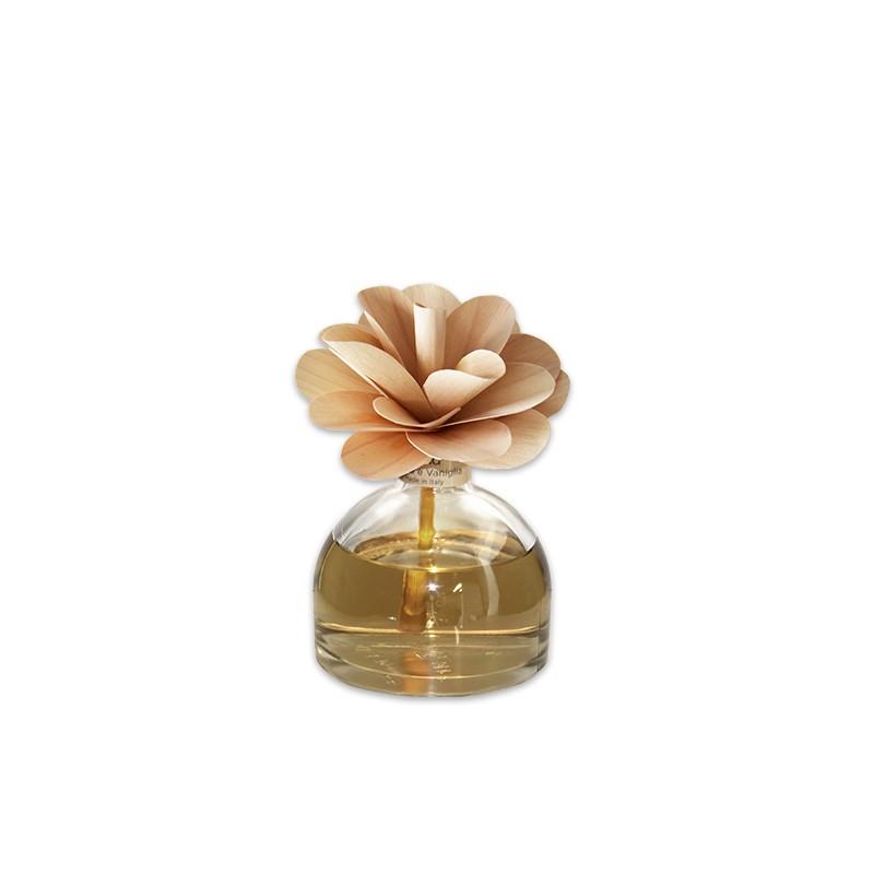 Купить Амбра и ваниль ароматический диффузор с цветком 200 мл, inmyroom, Италия