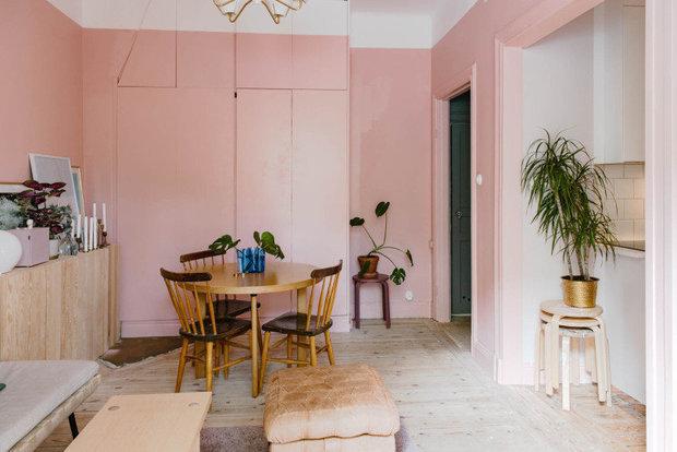 Фотография: Кухня и столовая в стиле Скандинавский, Эко, Малогабаритная квартира, Квартира, Швеция – фото на INMYROOM