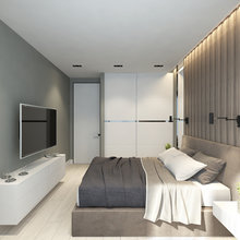 Фото из портфолио Суздальский проспект, 2-комнатная квартира – фотографии дизайна интерьеров на INMYROOM