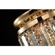 Каскадная люстра Maytoni Niagara с декоративным плафоном из хрусталя