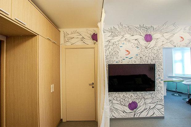 Фотография: Прихожая в стиле Современный, Кухня и столовая, Интерьер комнат, Elle Decoration – фото на InMyRoom.ru