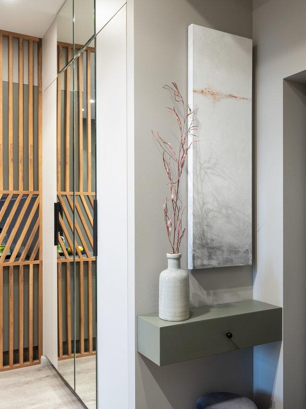 Фотография: Прихожая в стиле Современный, Квартира, Проект недели, Москва, 2 комнаты, 40-60 метров, Анна Морозова – фото на INMYROOM