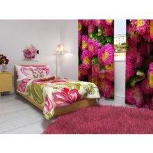 Фотошторы для дома: Розовые цветы