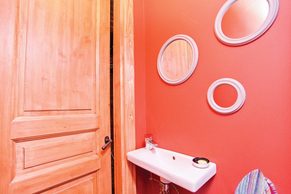 Фотография: Ванная в стиле Современный, Лофт, Декор интерьера, Дом, Дома и квартиры, Стена – фото на InMyRoom.ru