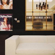 Фото из портфолио Квартира для любителей рок-н-ролла – фотографии дизайна интерьеров на InMyRoom.ru