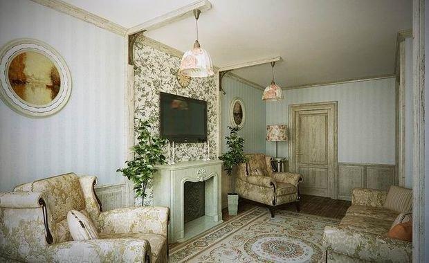 Фотография: Гостиная в стиле Прованс и Кантри, Декор интерьера, Квартира, Дом, Декор – фото на InMyRoom.ru