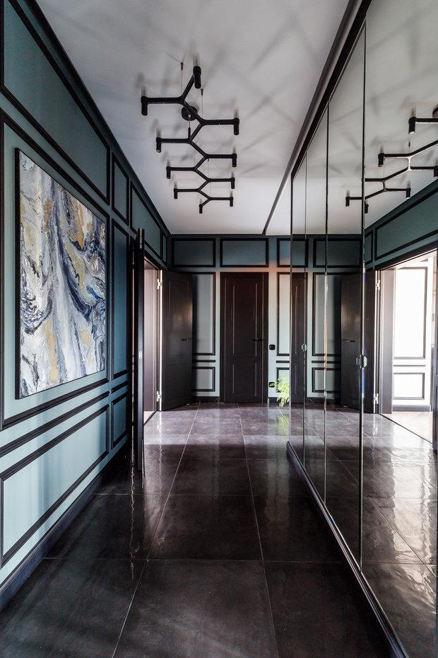 Фотография: Прихожая в стиле Современный, Лофт, Квартира, Проект недели, Краснодар, Монолитный дом, 2 комнаты, 60-90 метров, Ксения Демина – фото на INMYROOM
