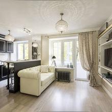 Фотография: Кухня и столовая в стиле Классический, Современный, Малогабаритная квартира, Квартира, Дизайн интерьера – фото на InMyRoom.ru
