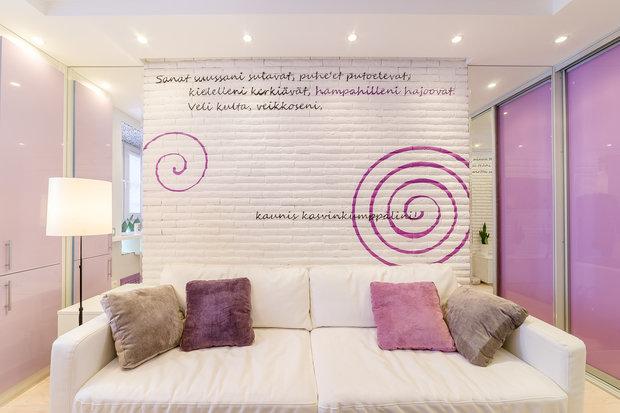 Фотография: Гостиная в стиле Современный, Малогабаритная квартира, Квартира, Дома и квартиры, Минимализм – фото на InMyRoom.ru