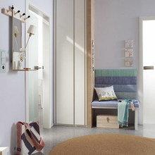 Фотография: Прихожая в стиле Современный, Квартира, Цвет в интерьере, Дома и квартиры, Переделка – фото на InMyRoom.ru