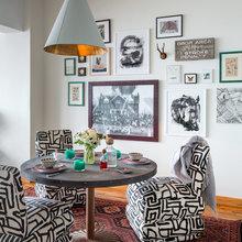 Фотография: Кухня и столовая в стиле Современный, Эклектика, Лофт, Декор интерьера, Квартира, Дома и квартиры, Нью-Йорк – фото на InMyRoom.ru