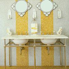 Фотография: Ванная в стиле Восточный, Декор интерьера, Дом, Дизайн интерьера, Цвет в интерьере – фото на InMyRoom.ru