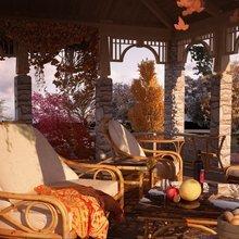 Фотография: Балкон, Терраса в стиле , Дом, Дома и квартиры, Картины – фото на InMyRoom.ru