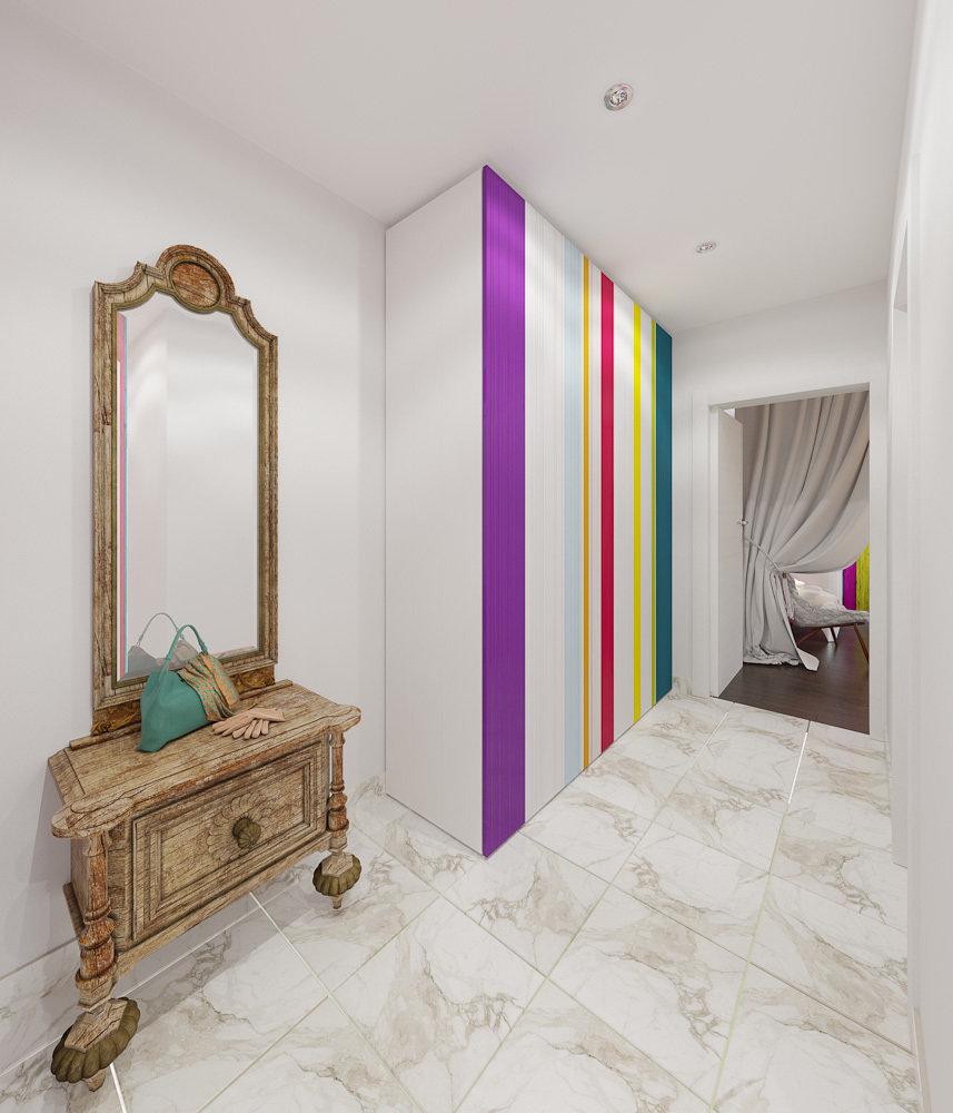 Фотография: Прихожая в стиле Эклектика, Квартира, Дома и квартиры, IKEA, Проект недели – фото на InMyRoom.ru