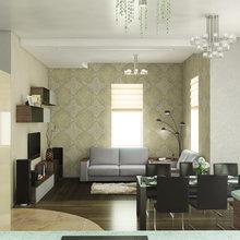 Фото из портфолио Загородный дом в п. Оредеж 260м.кв. – фотографии дизайна интерьеров на InMyRoom.ru