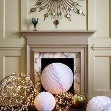 Фотография: Декор в стиле Современный, Декор интерьера, Квартира, Праздник, Новый Год, Гирлянда – фото на InMyRoom.ru