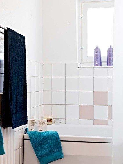 Фотография: Ванная в стиле Скандинавский, Малогабаритная квартира, Квартира, Швеция, Дома и квартиры – фото на InMyRoom.ru