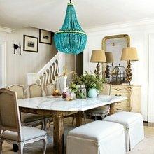 Фотография: Кухня и столовая в стиле Кантри, Декор интерьера, DIY, Советы, Люстра – фото на InMyRoom.ru