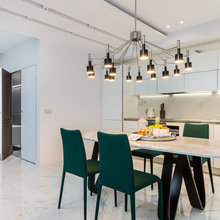 Фотография: Кухня и столовая в стиле Современный, Квартира, Проект недели, Ника Воротынцева – фото на InMyRoom.ru