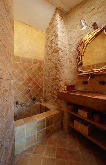 Фотография: Ванная в стиле Прованс и Кантри, Декор интерьера, Дом, Дома и квартиры, Прованс – фото на InMyRoom.ru