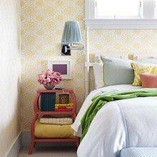 Фотография: Спальня в стиле Современный, Дом, Цвет в интерьере, Дома и квартиры – фото на InMyRoom.ru
