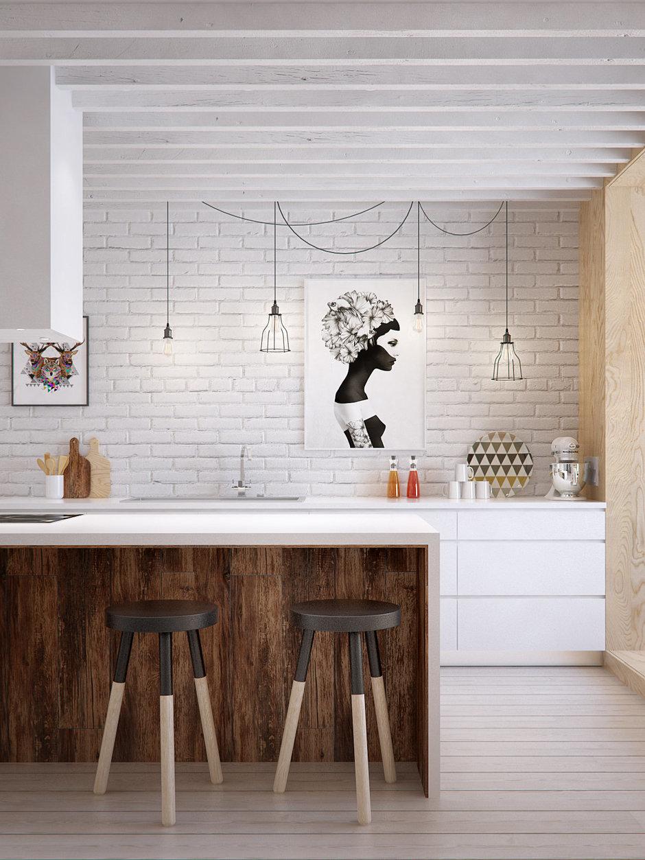 Фотография: Кухня и столовая в стиле Скандинавский, Квартира, Дома и квартиры, IKEA, Проект недели – фото на InMyRoom.ru