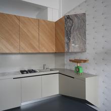 Фотография: Кухня и столовая в стиле Современный, Малогабаритная квартира, Квартира, Италия, Дома и квартиры – фото на InMyRoom.ru