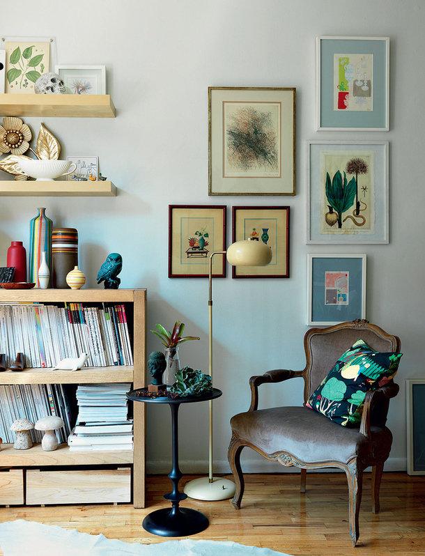 Фотография: Декор в стиле , Декор интерьера, Малогабаритная квартира, Квартира, Дома и квартиры, Нью-Йорк, Блошиный рынок – фото на InMyRoom.ru