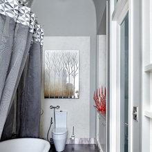 Фотография: Ванная в стиле Скандинавский, Квартира, Дома и квартиры, Перепланировка – фото на InMyRoom.ru