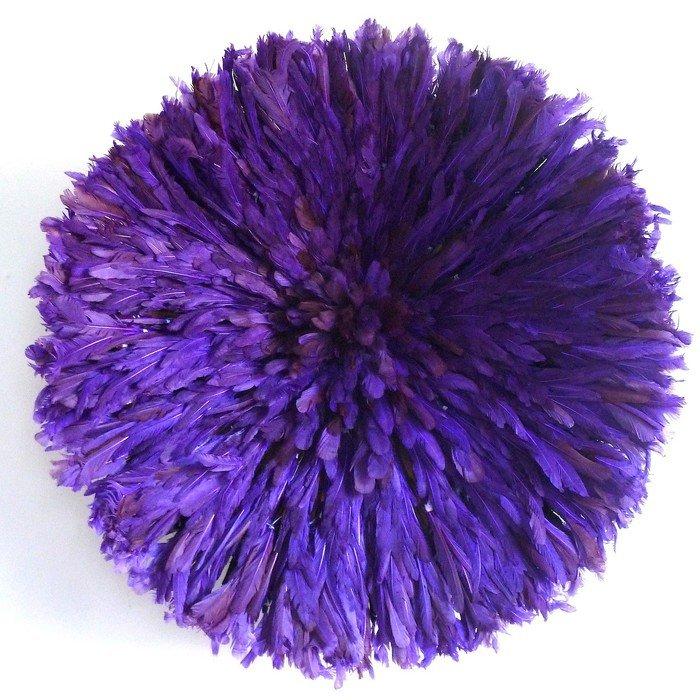 Камерунская шляпа  большая (75 см) Фиолетовая
