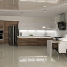 Фото из портфолио кухня эко-минимализм – фотографии дизайна интерьеров на InMyRoom.ru