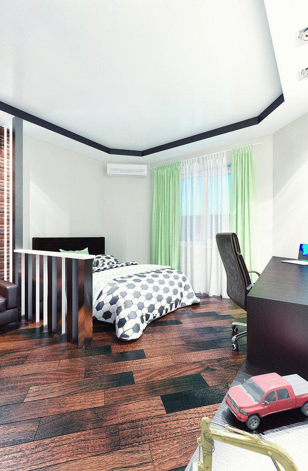 Фото из портфолио детская комната для мальчика – фотографии дизайна интерьеров на INMYROOM