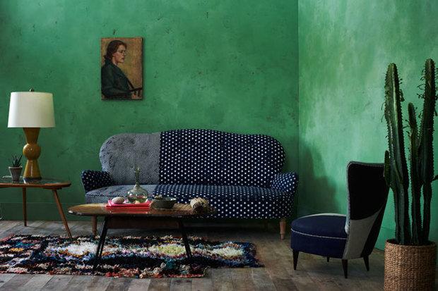 Фотография: Гостиная в стиле Эклектика, Декор интерьера, Дизайн интерьера, Цвет в интерьере, Dulux, ColourFutures, Akzonobel – фото на InMyRoom.ru