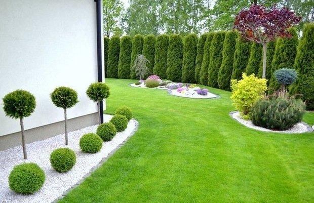 Фотография: Ландшафт в стиле , Дом и дача, Технониколь, planter, растения для дачи, дачные цветы, неприхотливые растения – фото на INMYROOM