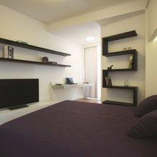 Фотография: Спальня в стиле Хай-тек, Квартира, Дома и квартиры, Проект недели, Перепланировка – фото на InMyRoom.ru