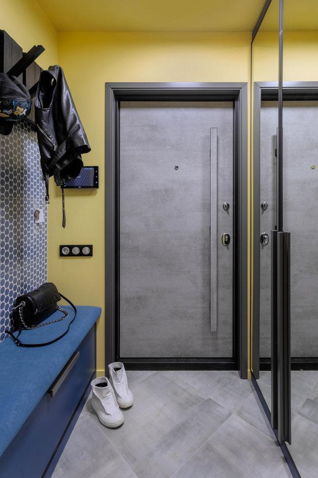 Фотография: Прихожая в стиле Современный, Эклектика, Квартира, Проект недели, Москва, 3 комнаты, 60-90 метров, Алена Горская – фото на INMYROOM