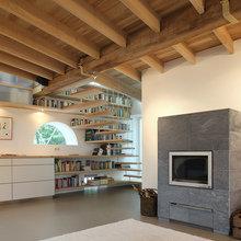Фото из портфолио Перевоплощение голландского сарая – фотографии дизайна интерьеров на INMYROOM