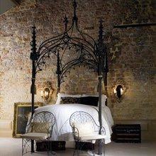 Фотография: Спальня в стиле Кантри, Классический, Лофт, Современный, Декор интерьера, Малогабаритная квартира, Мебель и свет, Готический – фото на InMyRoom.ru