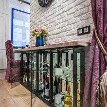 """Фото из портфолио Квартирный вопрос """"Кухня с огоньком"""" – фотографии дизайна интерьеров на InMyRoom.ru"""