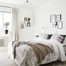 Фотография: Спальня в стиле Скандинавский, Декор интерьера, Квартира, Дом, Декор – фото на InMyRoom.ru