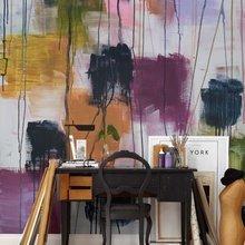 Фотография: Офис в стиле Классический, Современный, Квартира, Дома и квартиры, Советы, Стены, Подушки, Ремонт на практике – фото на InMyRoom.ru