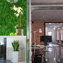 """Фото из портфолио Офис компании """"Дизайн Мира"""" – фотографии дизайна интерьеров на InMyRoom.ru"""