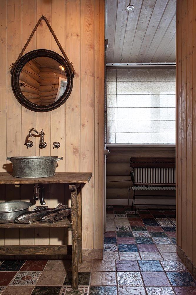 Фотография: Ванная в стиле Прованс и Кантри, Дом, Дома и квартиры, Проект недели, Эко – фото на InMyRoom.ru