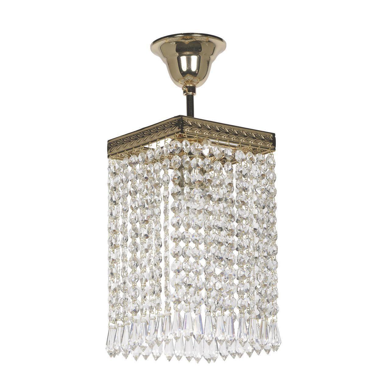 Купить со скидкой Потолочный светильник Elite Cremono золотого цвета