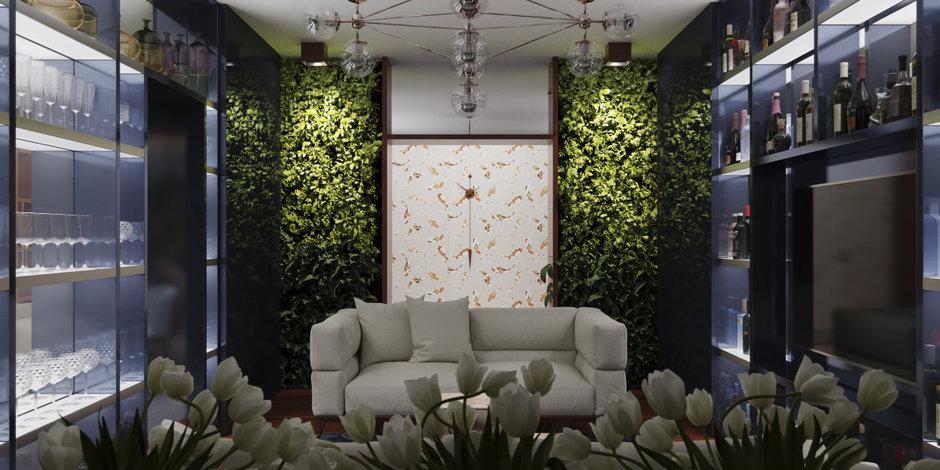 Фотография: Гостиная в стиле Лофт, Минимализм, Квартира, Проект недели – фото на InMyRoom.ru